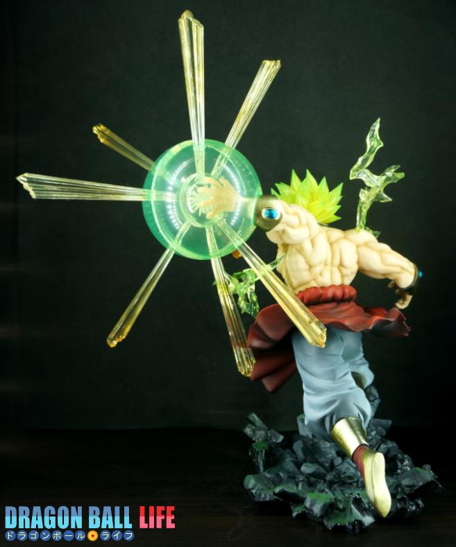 Figuarts ZERO(フィギュアーツZERO) ブロリー 超サイヤ人 烈戦 ドラゴンボール フィギュア レビュー 全体4