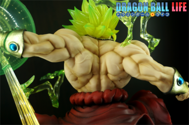 Figuarts ZERO(フィギュアーツZERO) ブロリー 超サイヤ人 烈戦 ドラゴンボール フィギュア レビュー 表情 2