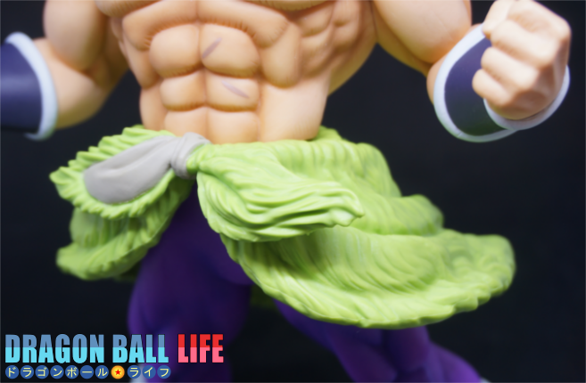 ドラゴンボール フィギュア レビュー 超刻武勇伝 ブロリー 超サイヤ人 フルパワー 腰巻1
