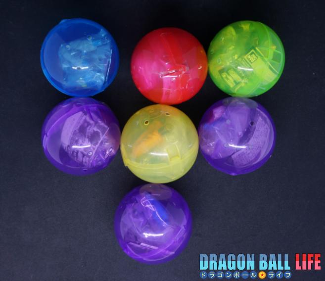 HGシリーズ 映画ドラゴンボール超 02 ドラゴンボール 最新 ガシャポン フィギュア 結果 カプセル色