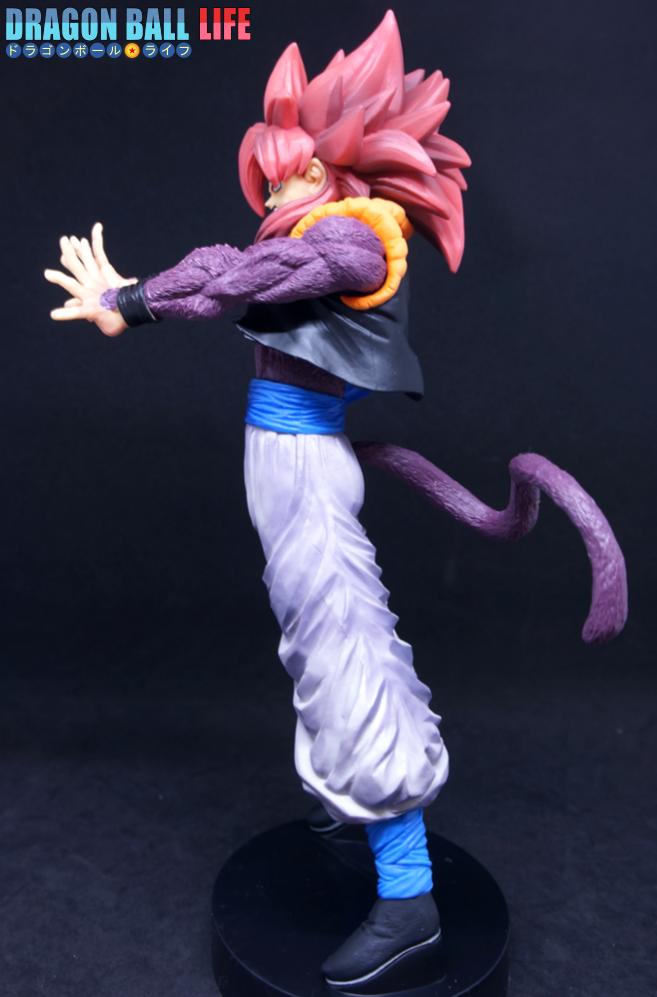 ドラゴンボール フィギュア 一番くじ ドッカンバトル コラボ A賞 超サイヤ人4 (SS4) ゴジータ レビュー 全体3