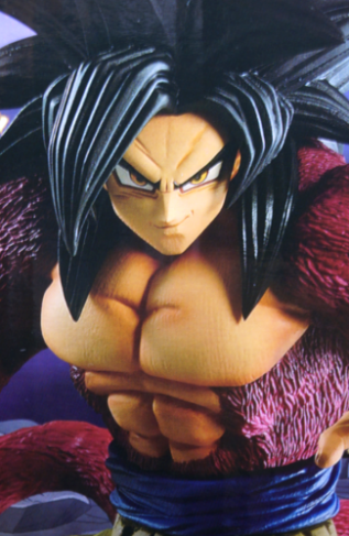 ドラゴンボール フィギュア 一番くじ ドッカンバトル コラボ賞 超サイヤ人4 (SS4) 孫悟空 レビュー パッケージ比較1