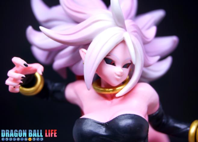 ドラゴンボール フィギュア 一番くじ スペシャル コラボ賞 人造人間21号(変身) レビュー 顔 1