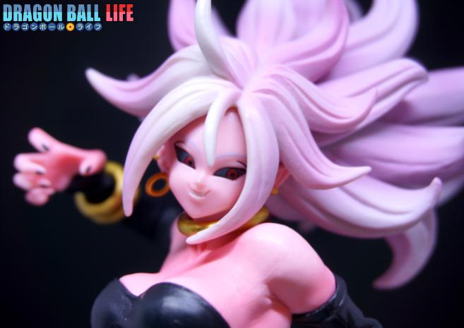 ドラゴンボール フィギュア 一番くじ スペシャル コラボ賞 人造人間21号(変身) レビュー 顔 2