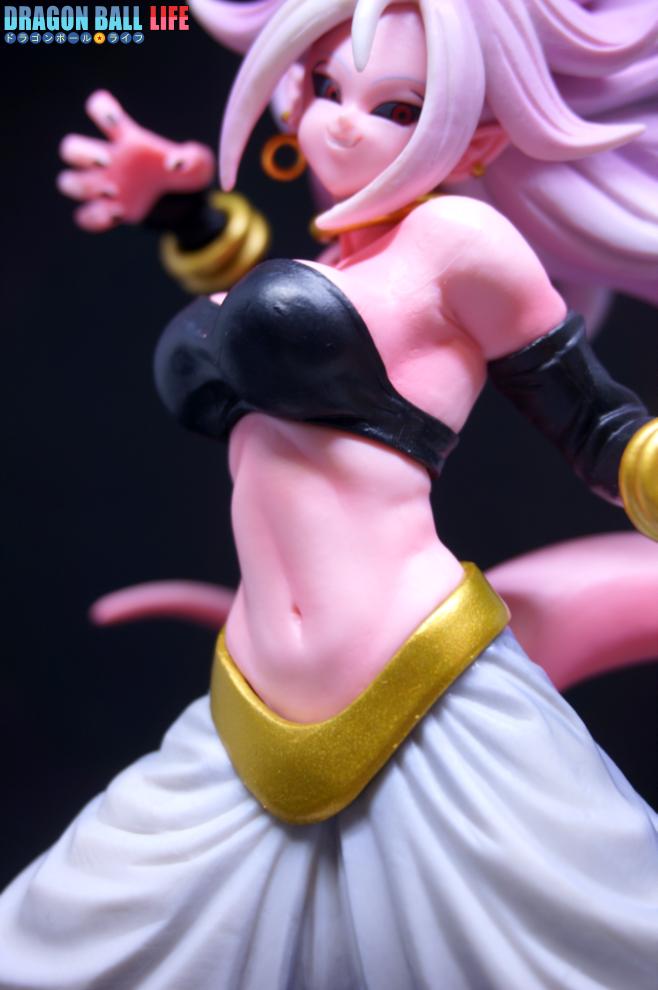 ドラゴンボール フィギュア 一番くじ スペシャル コラボ賞 人造人間21号(変身) レビュー 体 2