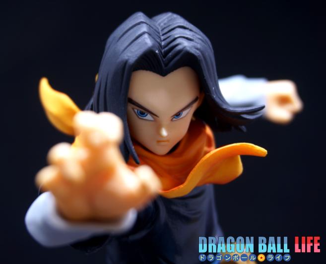 ドラゴンボール フィギュア 一番くじ B賞 人造人間17号 レビュー 顔 1