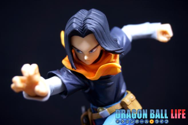 ドラゴンボール フィギュア 一番くじ B賞 人造人間17号 レビュー 顔 2