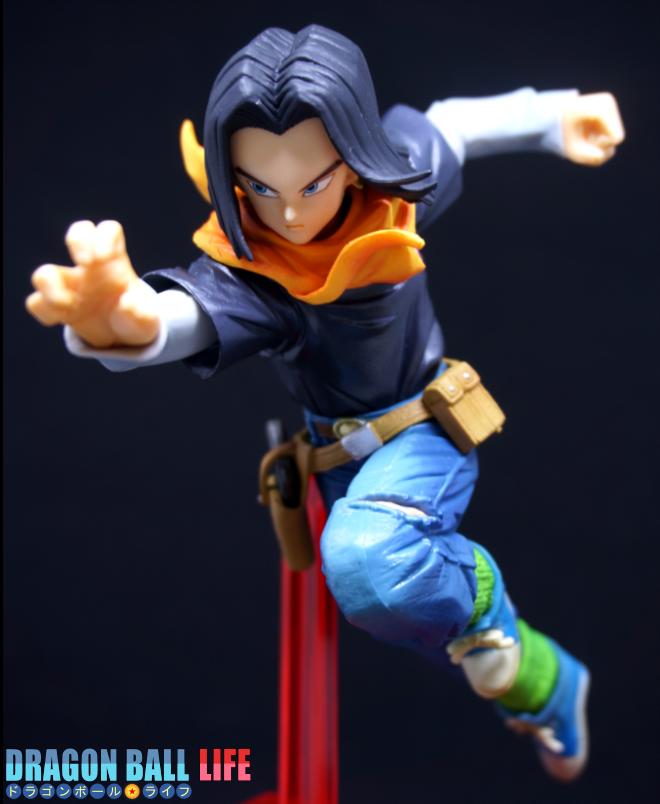 ドラゴンボール フィギュア 一番くじ B賞 人造人間17号 レビュー 全体 10