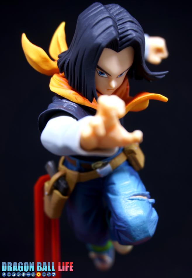 ドラゴンボール フィギュア 一番くじ B賞 人造人間17号 レビュー 全体 9